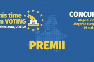 "Premii concurs online ""THIS TIME I'M VOTING"""